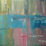 Teresa_Kras_Impresja na temat miasta_olej na płótnie_2012_kolekcja prywatna